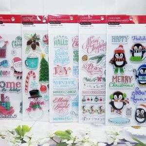 Christmas & Holiday Clear Stamp Set Recollections